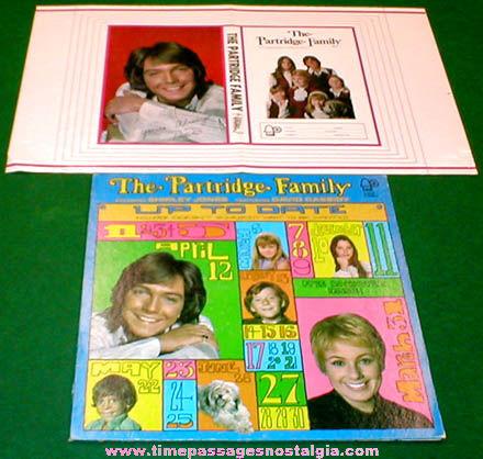 ©1971 Partridge Family Album & Premium Book Cover