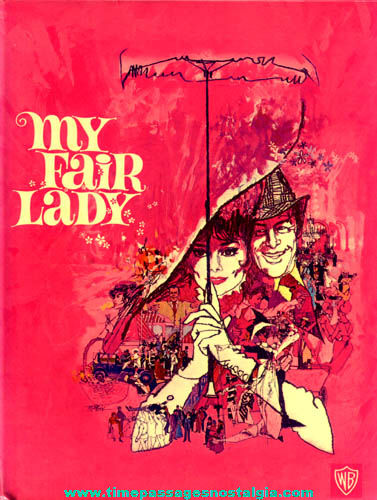 ©1964 Warner Brothers My Fair Lady Hard Back Book