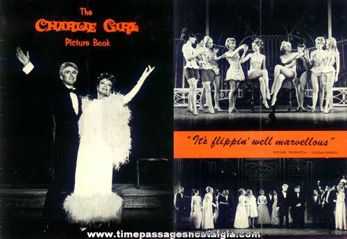 1965 Charlie Girl Theatre Souvenir Picture Booklet