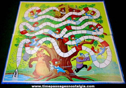 ©1969 Walter Lantz Woody Woodpecker Cartoon Character Whitman Board Game