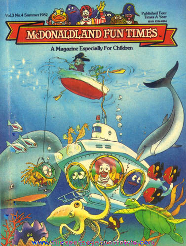 (22) Different 1982 - 2001 McDonalds Restaurant Advertising Fun Times Magazines