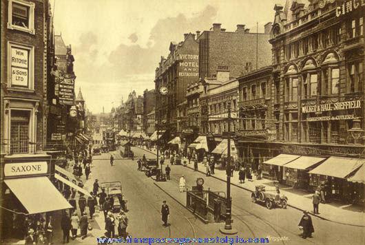 Old City Of Leeds, England Souvenir Picture Album
