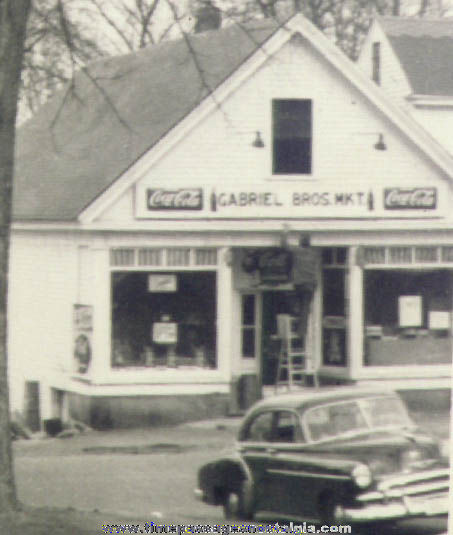 (2) Old Hollis New Hampshire Grocery Store Photographs
