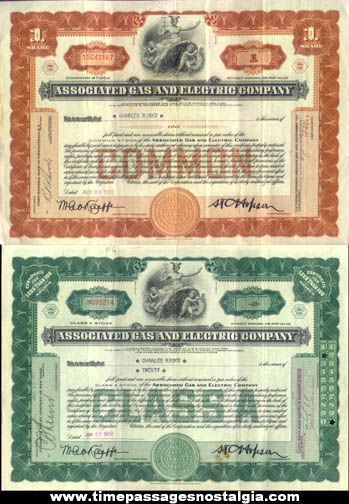 (4) 1932 Energy Company Class A Common Stock Certificates