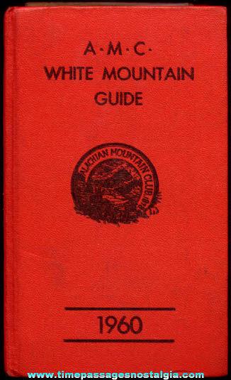 ©1960 Appalachian Mountain Club White Mountains Guide & Map Book
