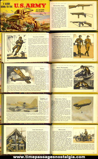 ©1943 ''Guide Book To The U.S. Army'' Book