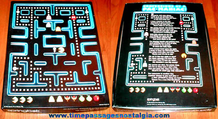 Colorful ©1982 Pacman Video Game Springbok Jigsaw Puzzle