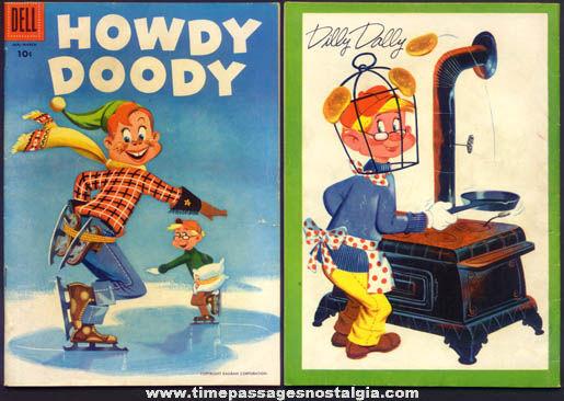 ©1956 Howdy Doody Character Dell Comics Comic Book