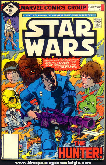 ©1978 Star Wars #16 Marvel Comics Comic Book