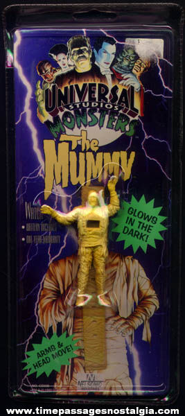 Unopened Universal Studios Monster Mummy Glow In The Dark Wrist Watch