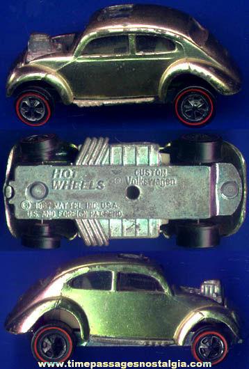 ©1967 Mattel Red Lines Hot Wheels Custom Volkswagen Diecast Toy Car