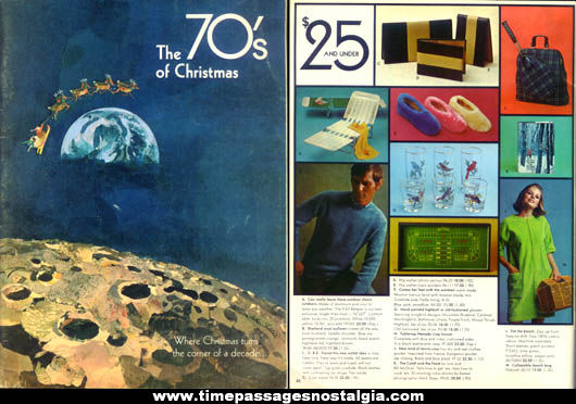 1969 Abercrombie & Fitch Christmas Advertising Gift Catalog