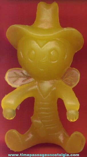 1961 Buffalo Bee Breakfast Buddy Nabisco Cereal Prize Bowl Hanger
