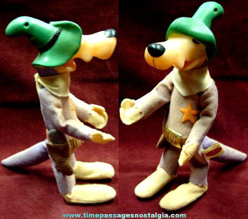 1960s Deputy Droopalong Coyote Ideal Bendable Cartoon Toy Figure