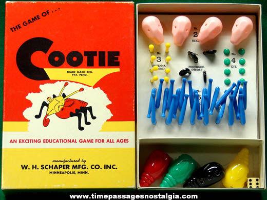 ©1949 Boxed Schaper Cootie Game