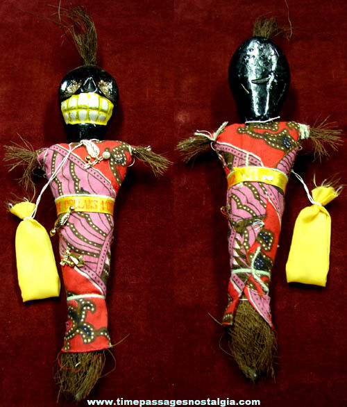 Old New Orleans Louisiana Black Magic Voo Doo Doll