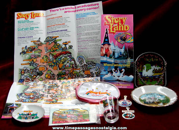 (10) Old Story Land Glen New Hampshire Advertising Souvenir Items