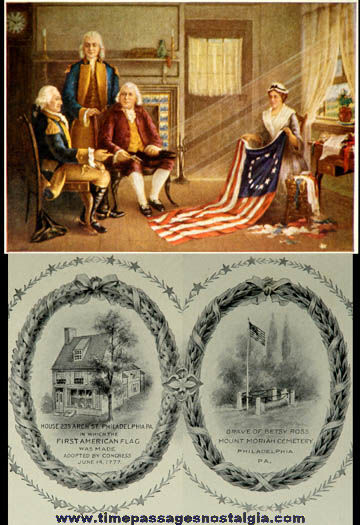 1924 American Flag House and Betsy Ross Memorial Association Certificate