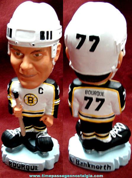 Ray Bourque Boston Bruins Hockey Bank North Advertising Bobble Head Figure