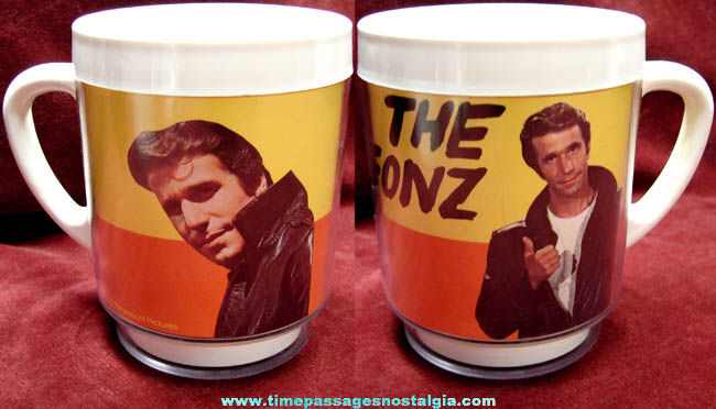 ©1976 Happy Days Fonzie Character Picture Coffee Cup
