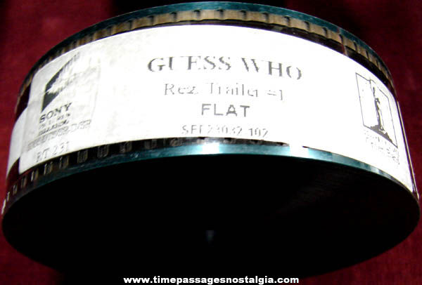 2005 Guess Who Movie 35mm Teaser Trailer Film