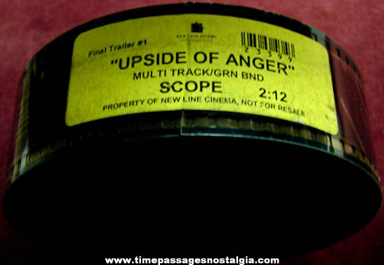 2005 Upside Of Anger Movie 35mm Teaser Trailer Film