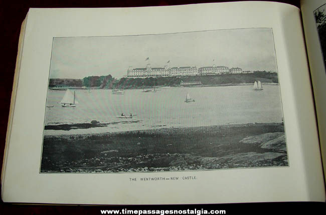 Old Portsmouth New Hampshire Area Advertising Souvenir Picture Book