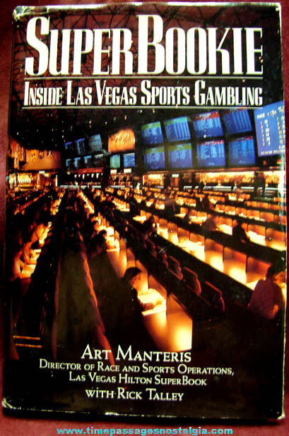 ©1991 Super Bookie Inside Las Vegas Sports Gambling Book