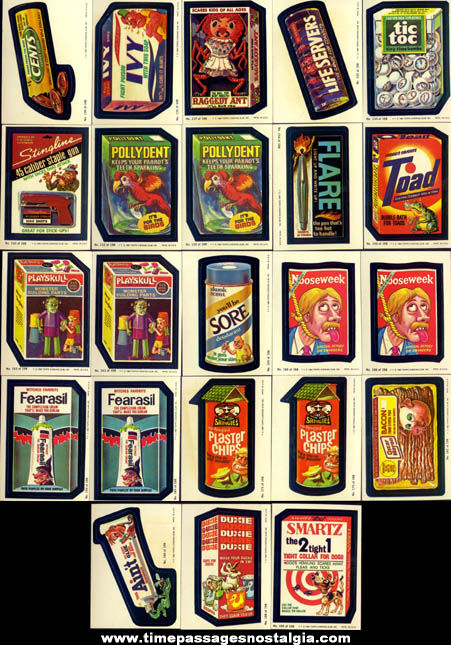 (23) ©1980 Topps Wacky Packages Non Sports Trading Card Stickers