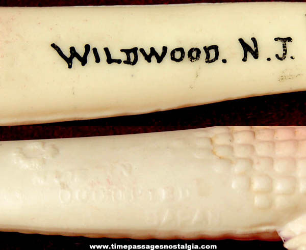 1940s Wildwood New Jersey Occupied Japan Souvenir Celluloid Alligator