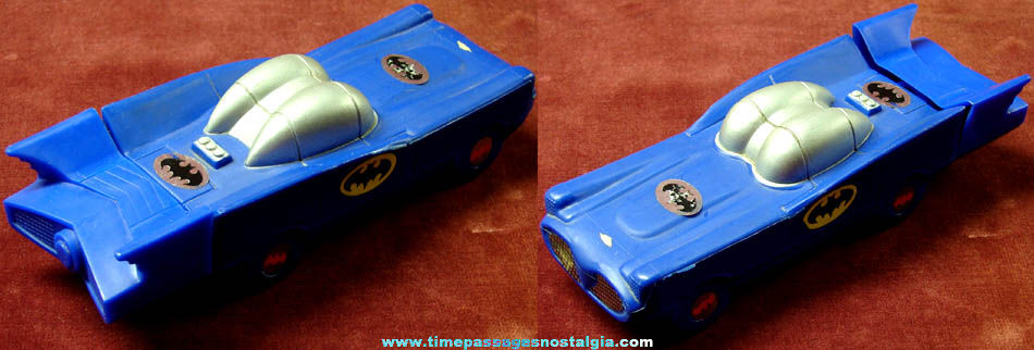 ©1978 DC Comics Batman Batmobile Avon Bubble Bath Bottle