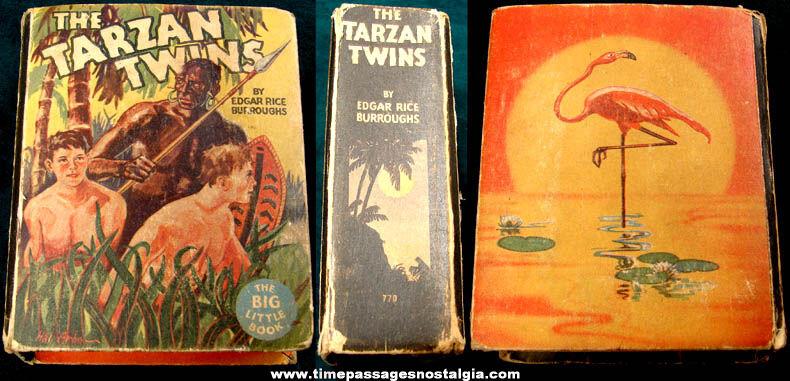 ©1934 The Tarzan Twins Big Little Book
