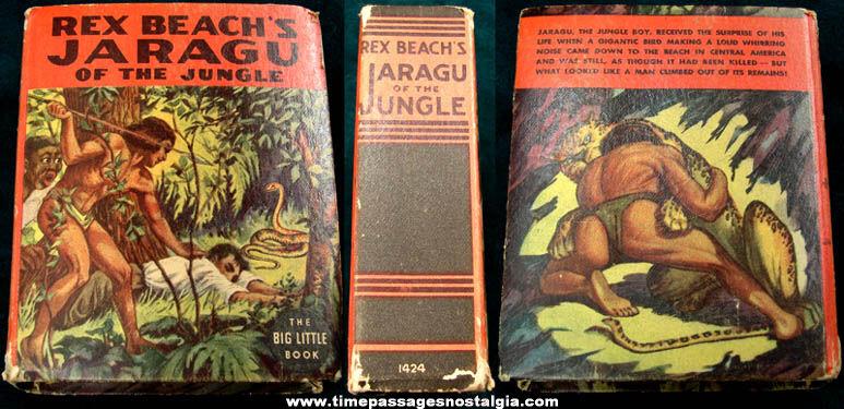 ©1937 Rex Beach's Jaragu Of The Jungle Big Little Book