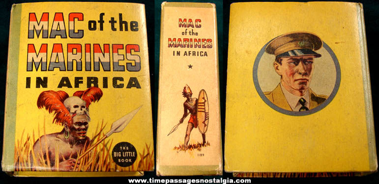 ©1936 Mac Of The Marines In Africa Big Little Book
