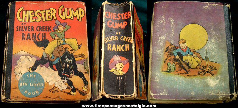 ©1933 Chester Gump At Silver Creek Ranch Big Little Book