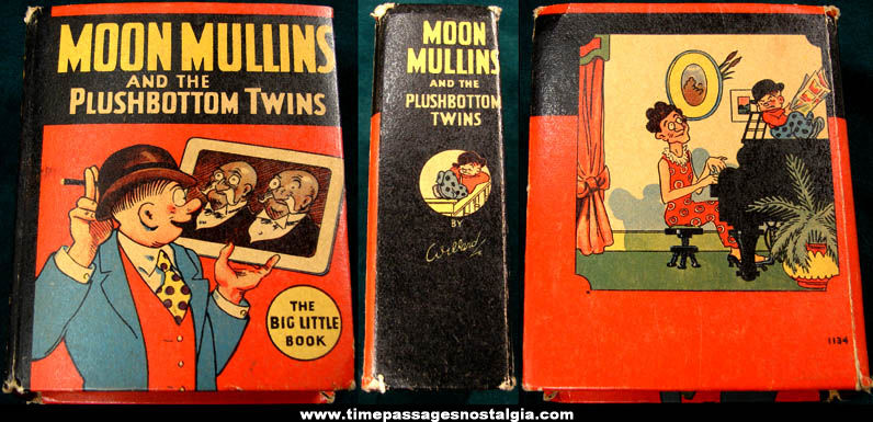 ©1935 Moon Mullins and The Plushbottom Twins Big Little Book