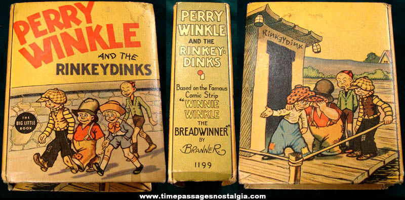 �1937 Perry Winkle and The Rinky Dinks Big Little Book