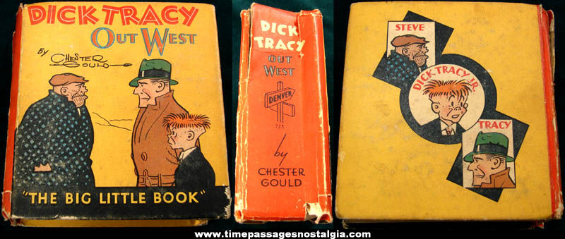 ©1938 Dick Tracy Out West Big Little Book