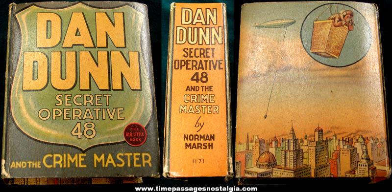 ©1937 Dan Dunn Secret Operative 48 and The Crime Master Big Little Book