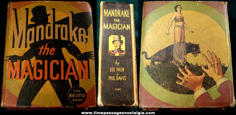 ©1935 Mandrake The Magician Big Little Book