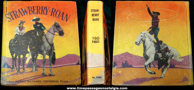 ©1934 Ken Maynard Strawberry Roan Western Little Big Book