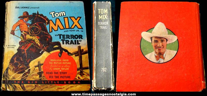 ©1934 Tom Mix & Tony Jr. Terror Trail Big Little Book