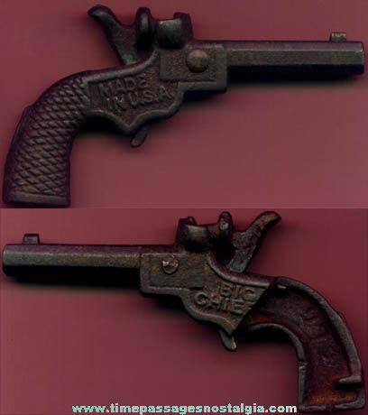 Old Miniature Big Chief Cast Iron Cap Gun