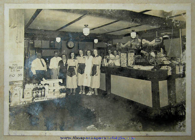 (4) Old Aunt Martha's Cape Neddick Maine Restaurant Photographs