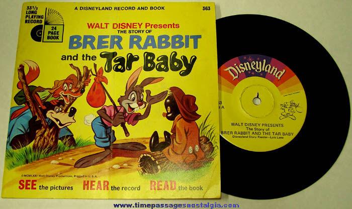 Brer Rabbit And The Tar Baby Book Brer Rabbit Amp Tar Baby
