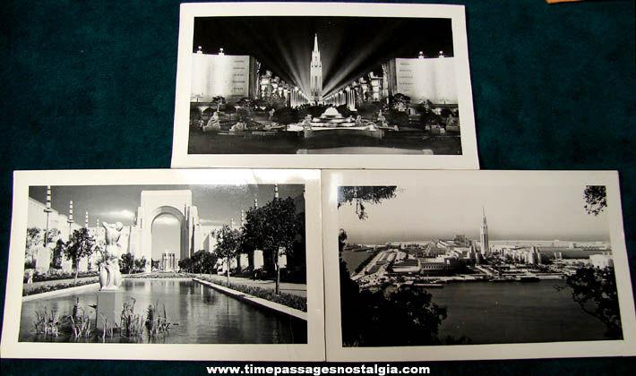 (7) 1939 Golden Gate International Exposition Souvenir Paper Items