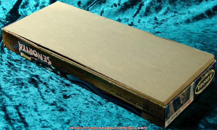 Unbuilt & Boxed ©1959 Aurora Mexican Senorita Model Kit