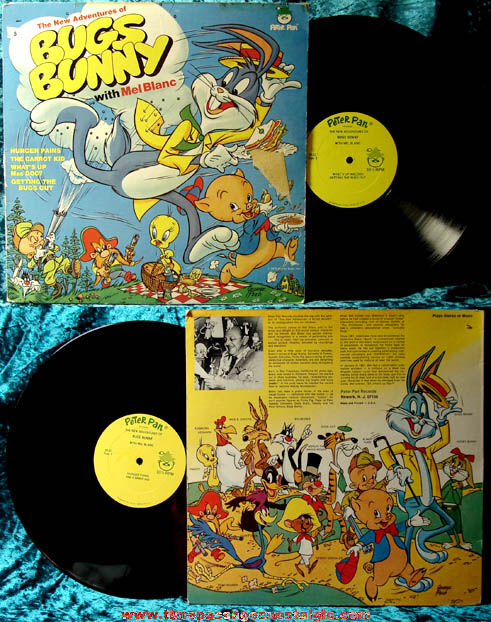 ©1973 New Adventures of Bugs Bunny With Mel Blanc Record Album