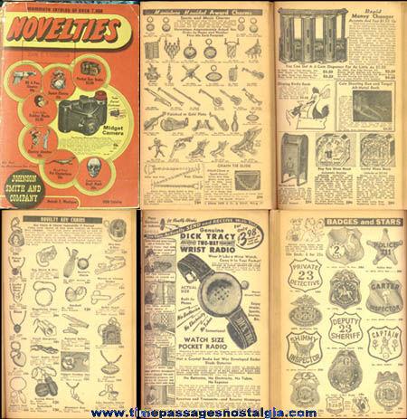 1950 Johnson Smith & Company Novelty Catalog
