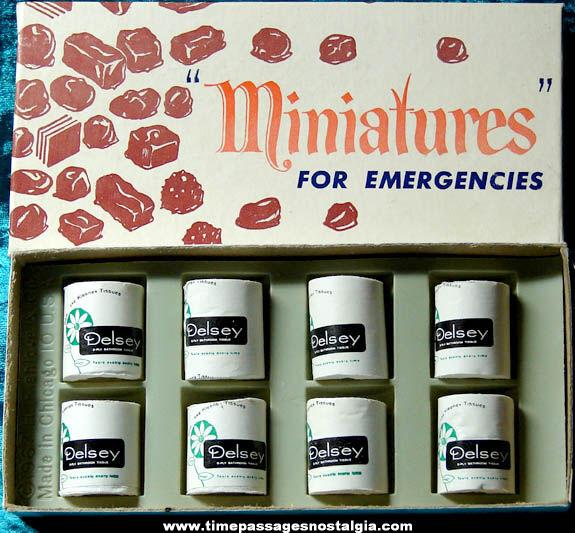 Boxed ©1967 Miniatures For Emergencies Joke Novelty Item